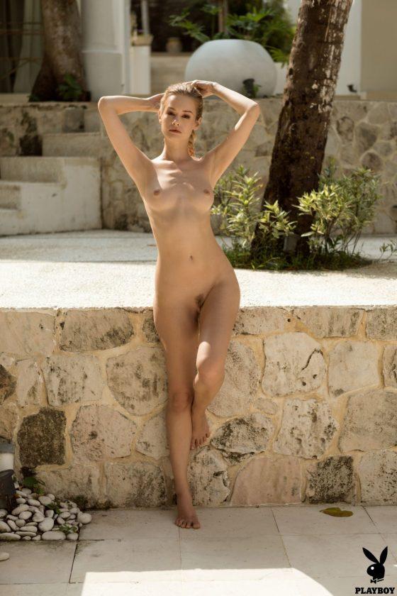 Olivia Preston Nude In Captivating Style Playboy Model Pics